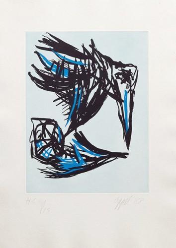 Los Pájaros by Karel Appel