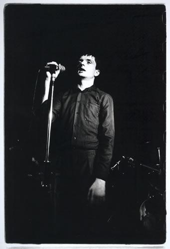 7.Ian Curtis, Joy Division The Factory, Hulme by Kevin Cummins at