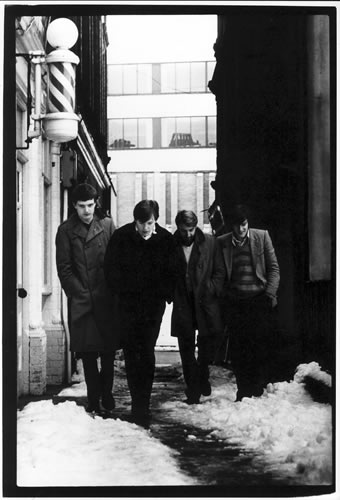 6.joy Division, Cathedral Yard, Manchester by Kevin Cummins at