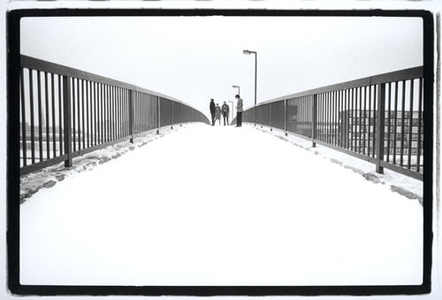 4.joy Division. Hulme, Manchester by Kevin Cummins at