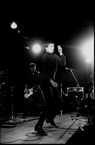 9.peter Hook And Ian Curtis, Joy Division by Kevin Cummins at