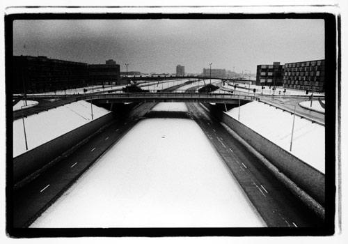 5.princess Parkway, Hulme, Manchester by Kevin Cummins at