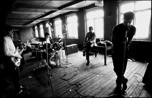 1.Joy Division, TJ Davidson's rehearsal room by Kevin Cummins at