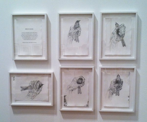 Bird In Hand by Kiki Smith