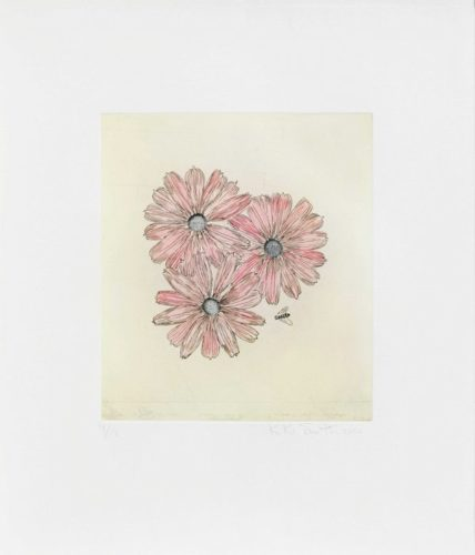 Flower With Bee by Kiki Smith