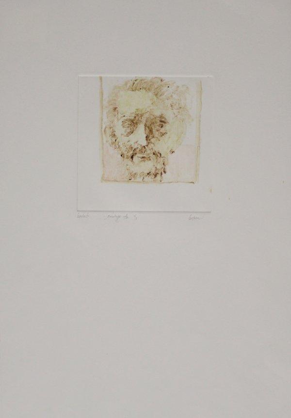 Ernst Barlach by Leonard Baskin