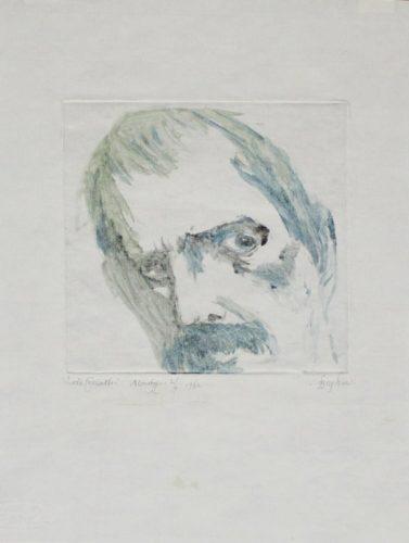 Lovis Corinth by Leonard Baskin at