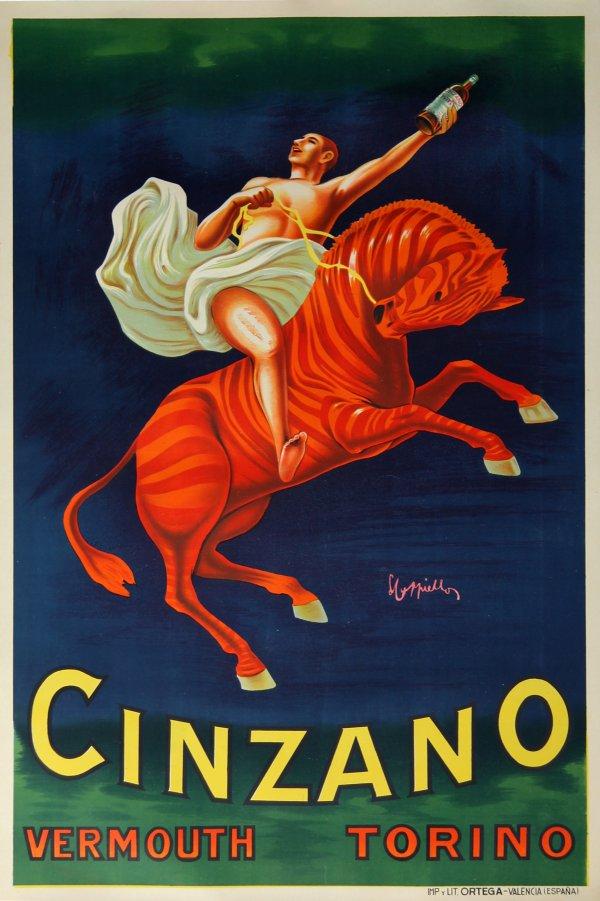 Cinzano Vermouth by Leonetto Cappiello