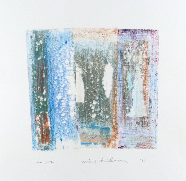 Homage To The Mountains No. 102 by Louise Fishman