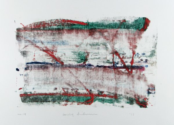 Homage To The Mountains No. 114 by Louise Fishman
