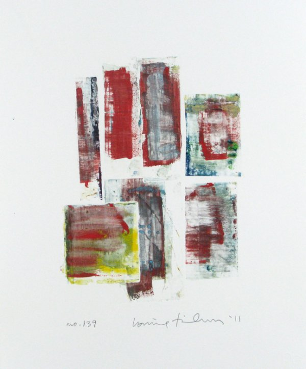 Homage To The Mountains No. 139 by Louise Fishman
