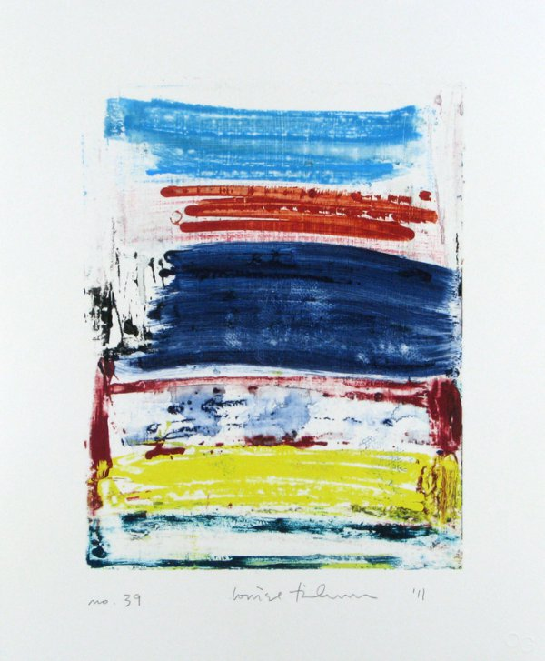 Homage To The Mountains No. 39 by Louise Fishman