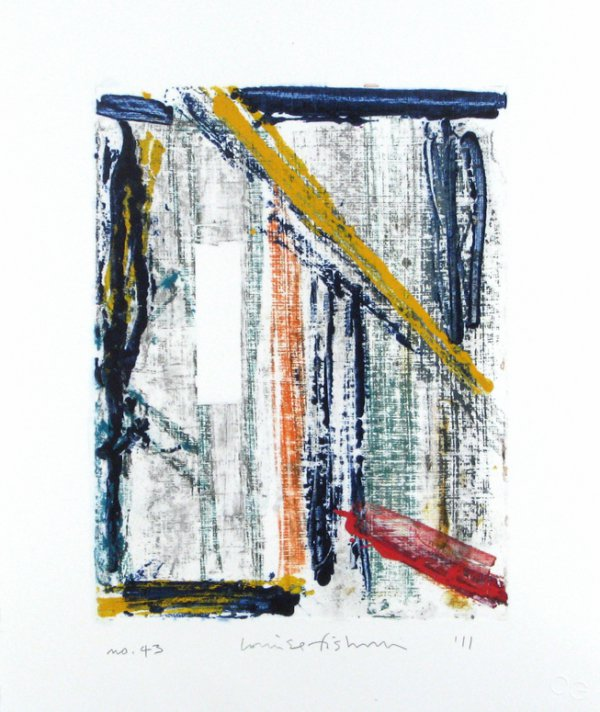 Homage To The Mountains No. 43 by Louise Fishman
