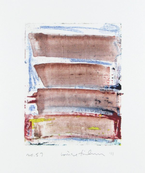 Homage To The Mountains No. 57 by Louise Fishman