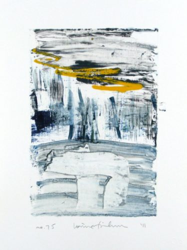 Homage To The Mountains No. 75 by Louise Fishman