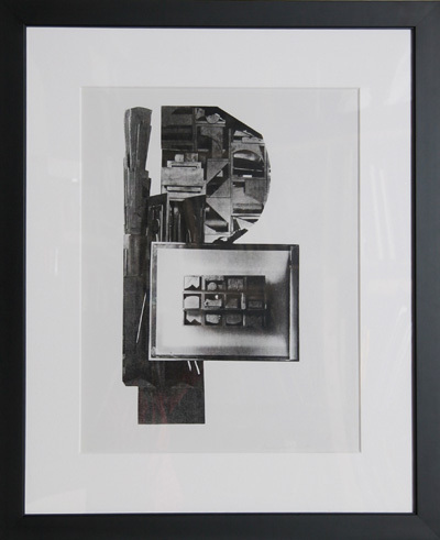 Facades 1 by Louise Nevelson at