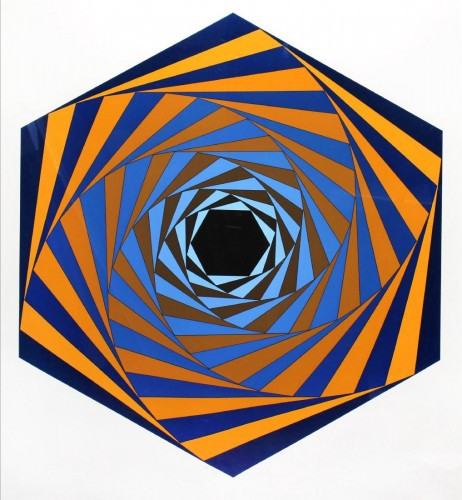 Facades #2 by Victor Vasarely