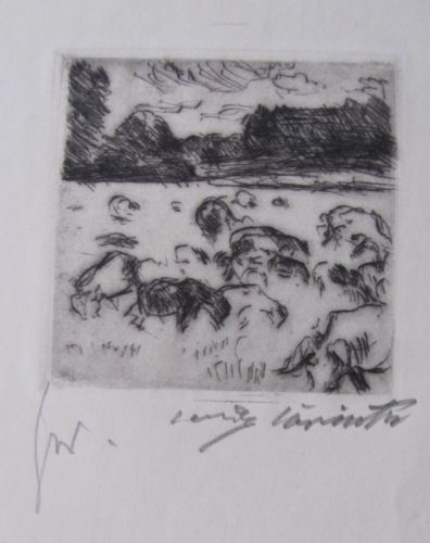 Grazing Herd by Lovis Corinth at