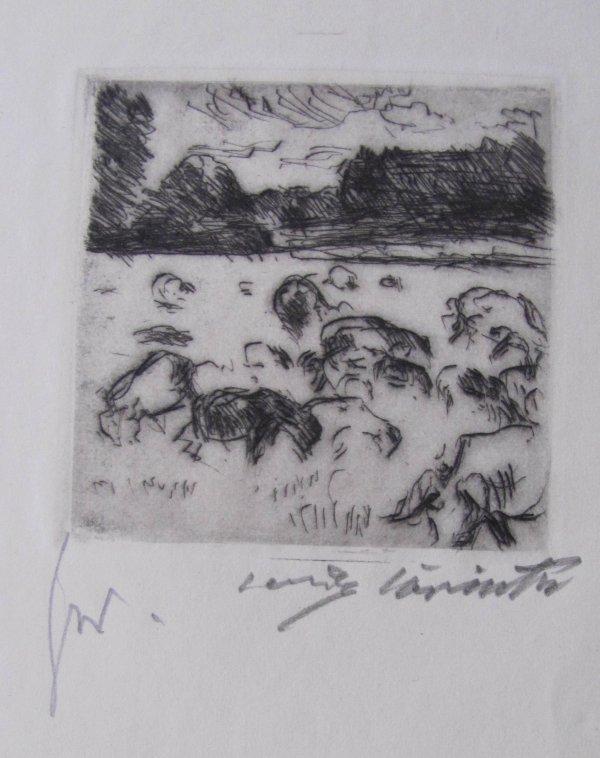 Grazing Herd by Lovis Corinth