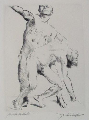 Odysseus Und Die Freier by Lovis Corinth at