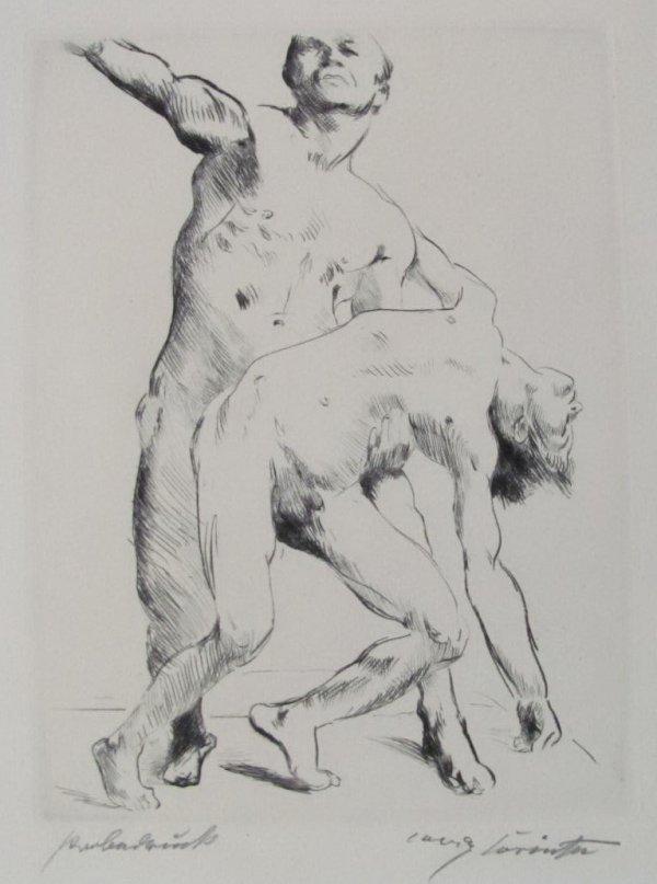 Odysseus Und Die Freier by Lovis Corinth