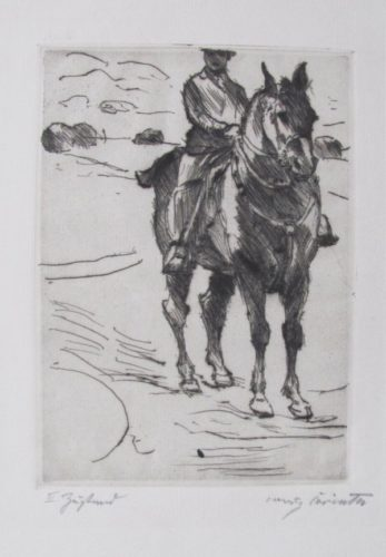 Reiter by Lovis Corinth at