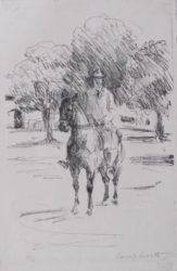 Rider by Lovis Corinth at William Chambers Art