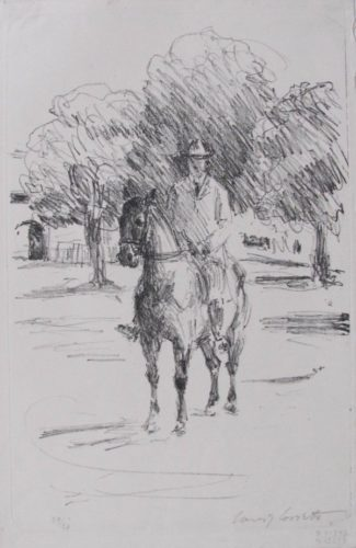 Rider by Lovis Corinth at