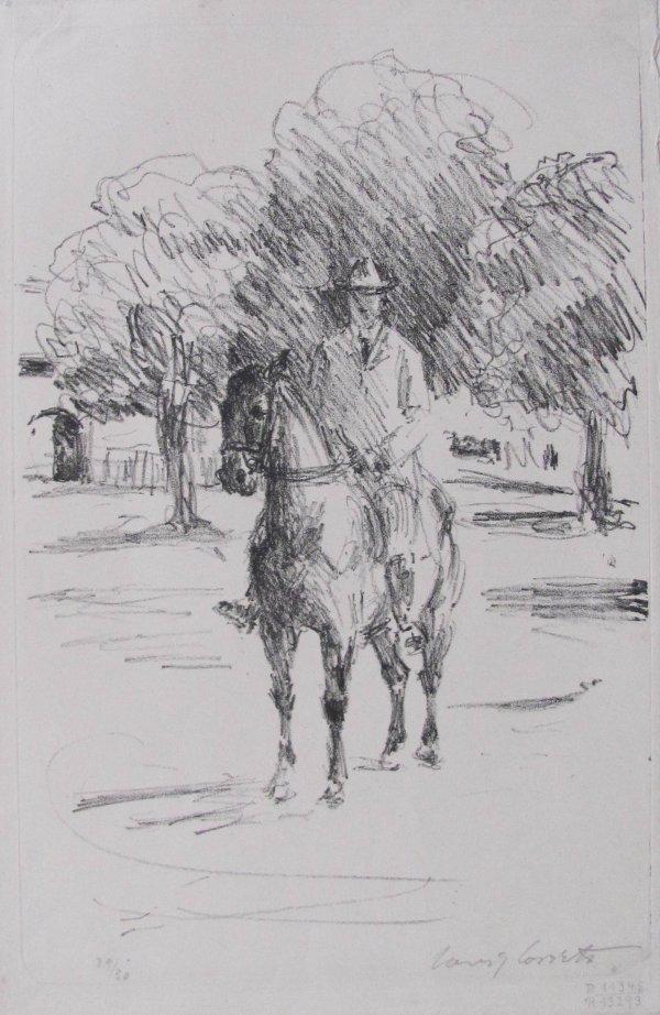 Rider by Lovis Corinth
