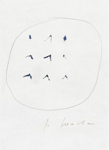 Concetto Spaziale by Lucio Fontana at