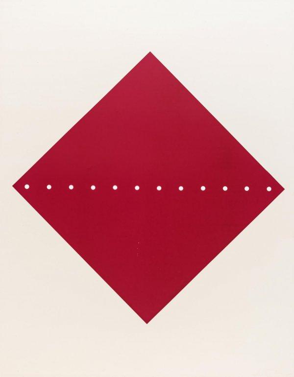 Concetto Spaziale S-17 by Lucio Fontana