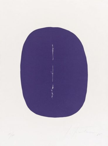 Concetto Spaziale S-2 by Lucio Fontana at