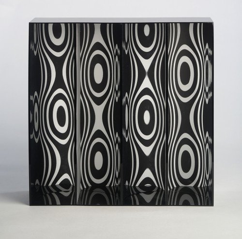 Ondes Par Déplacement Du Spectateur by Julio Le Parc at Julio Le Parc