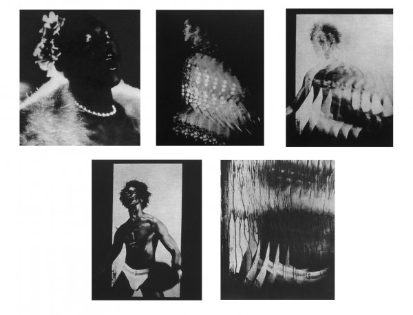 Five Photogravures by Lyle Ashton Harris at