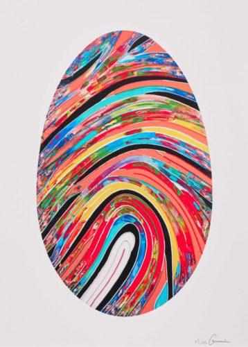 Prismatic Labyrinth (102 U) by Marc Quinn