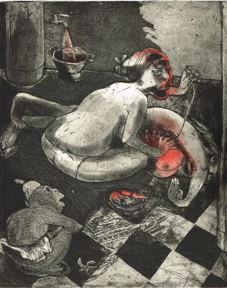 We're All Bleeding 1 by Marcelle Hanselaar