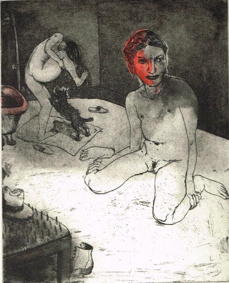 We're All Bleeding 3 by Marcelle Hanselaar