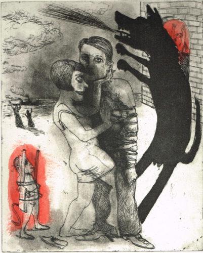 We're All Bleeding 4 by Marcelle Hanselaar