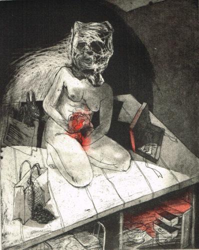 We're All Bleeding 8 by Marcelle Hanselaar
