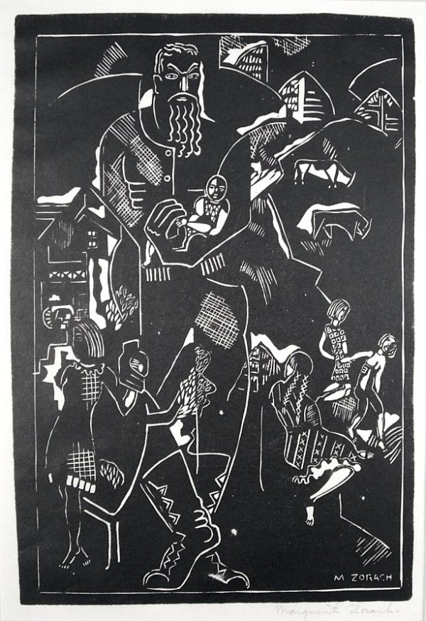 A New England Family (the Father) by Marguerite Zorach