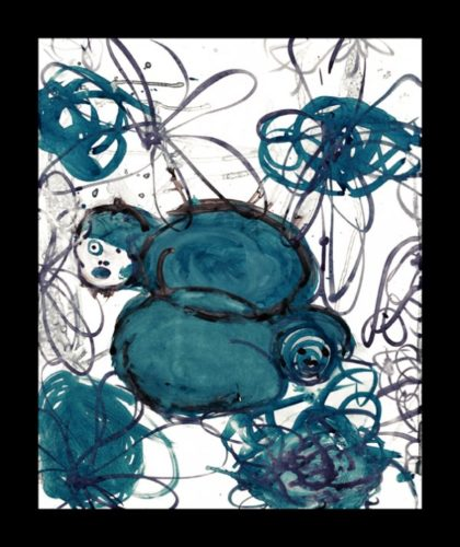 Lulu Blue 16 by Mark Cooper