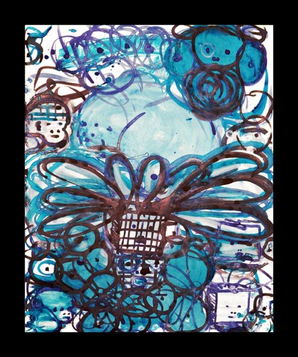 Lulu Blue 17 by Mark Cooper
