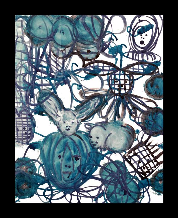Lulu Blue 18 by Mark Cooper