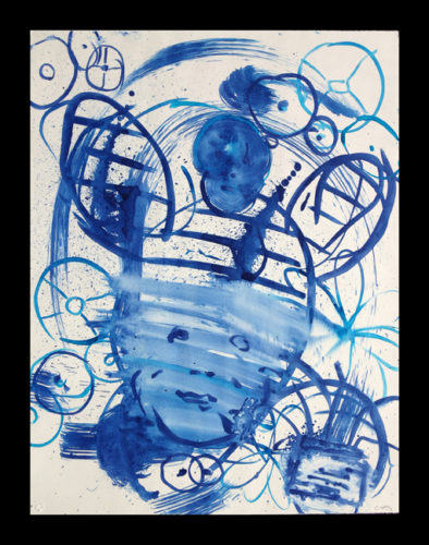Lulu Blue 3 by Mark Cooper