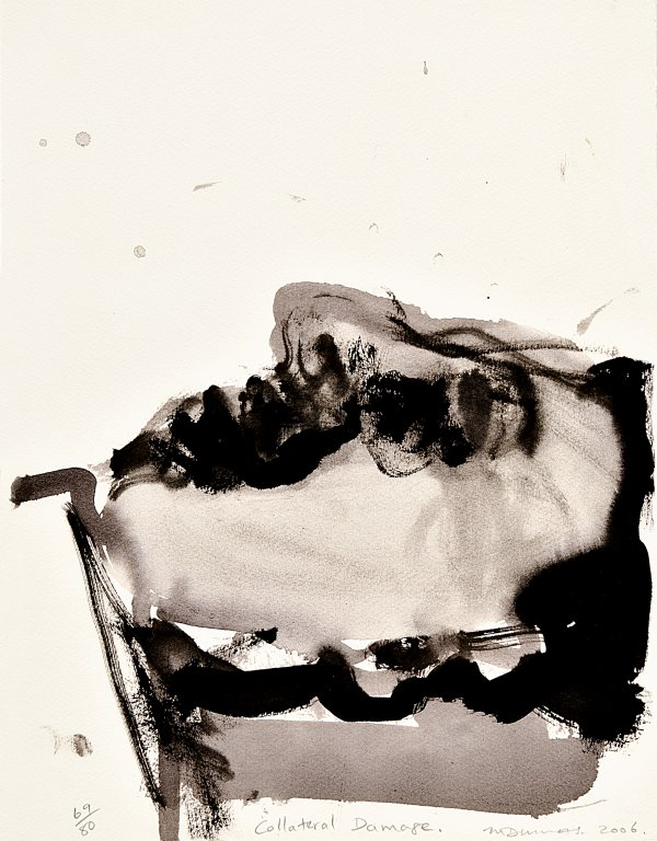 Collateral Damage by Marlene Dumas