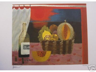 Red Sunset by Mary Fedden