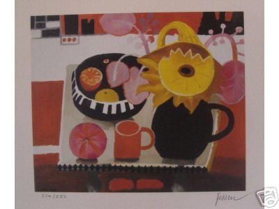 The Orange Mug by Mary Fedden at