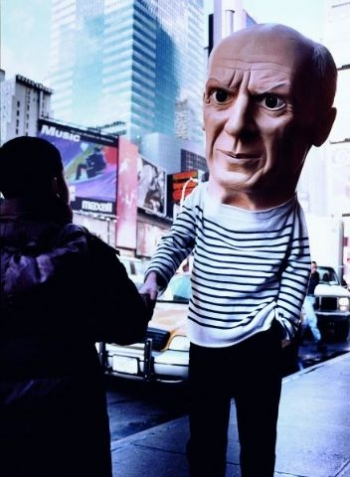 Untitled (picasso) by Maurizio Cattelan at