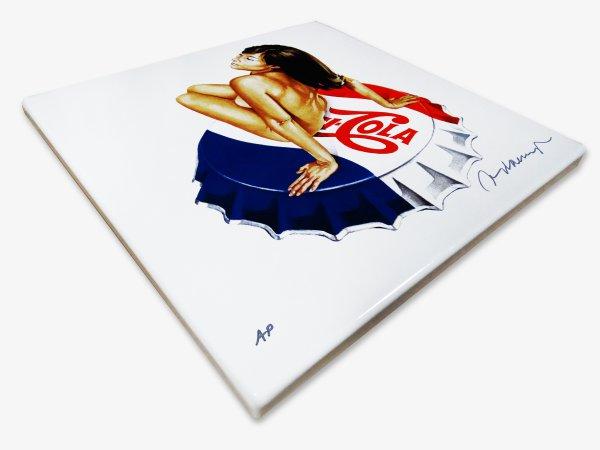 Lola Cola by Mel Ramos at