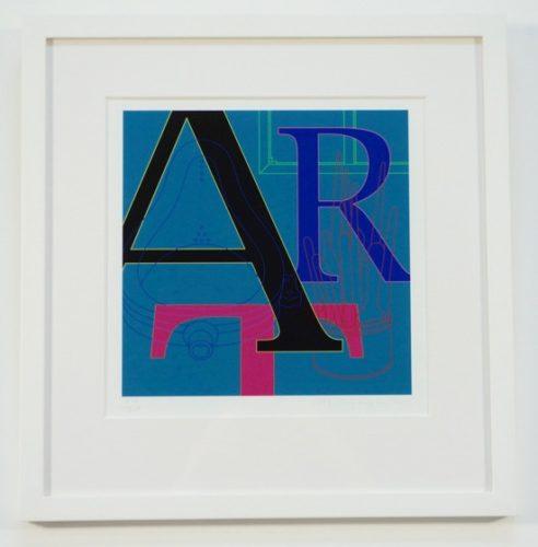 Art by Michael Craig-Martin at